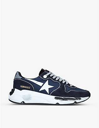 GOLDEN GOOSE: Runner Star 408 suede trainers