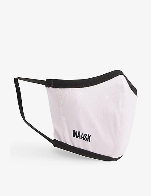 MAASK: Kids reusable recycled-polyester face covering