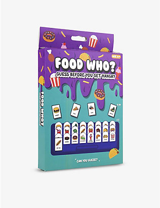 GIFT REPUBLIC: Food Who board game
