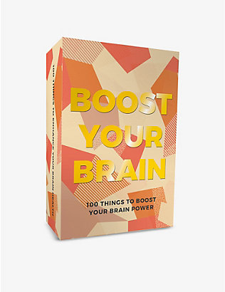 GIFT REPUBLIC: Boost your Brain set of 100 cards