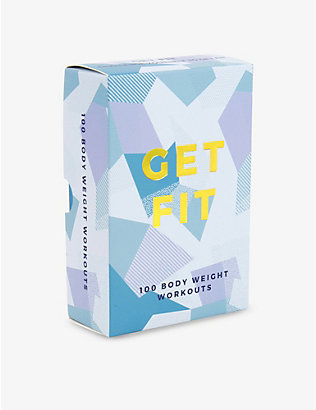 GIFT REPUBLIC: Get Fit set of 100 cards