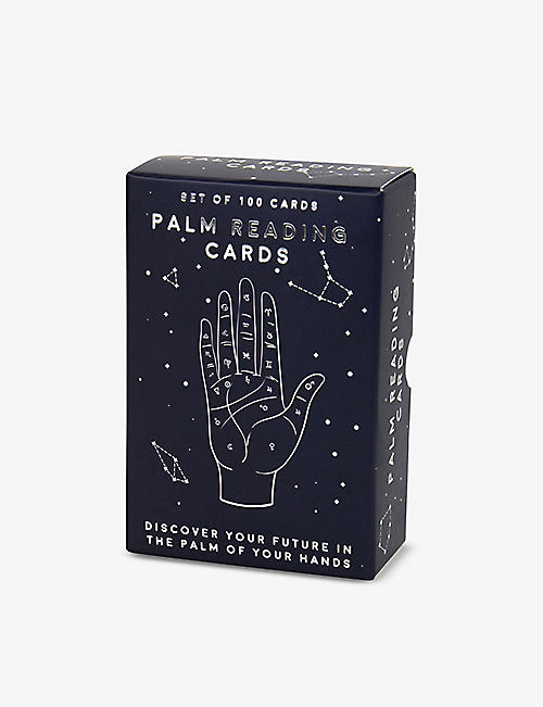 GIFT REPUBLIC: Palm Reading cards set of 100