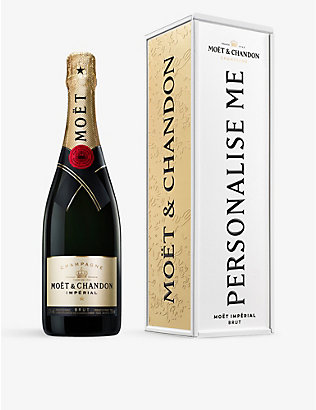 MOET & CHANDON: Exclusive Impérial Brut NV Champagne and personalised tin 750ml