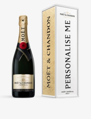 Exclusive Impérial Brut NV Champagne and personalised tin 750ml
