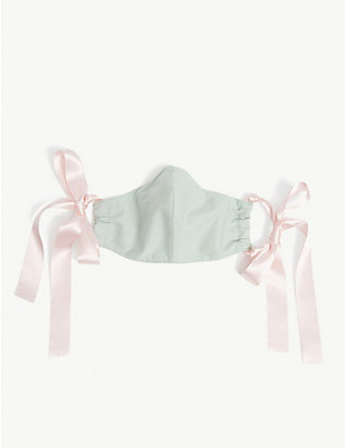 ROOP: Ribbon-strap organic-cotton face covering