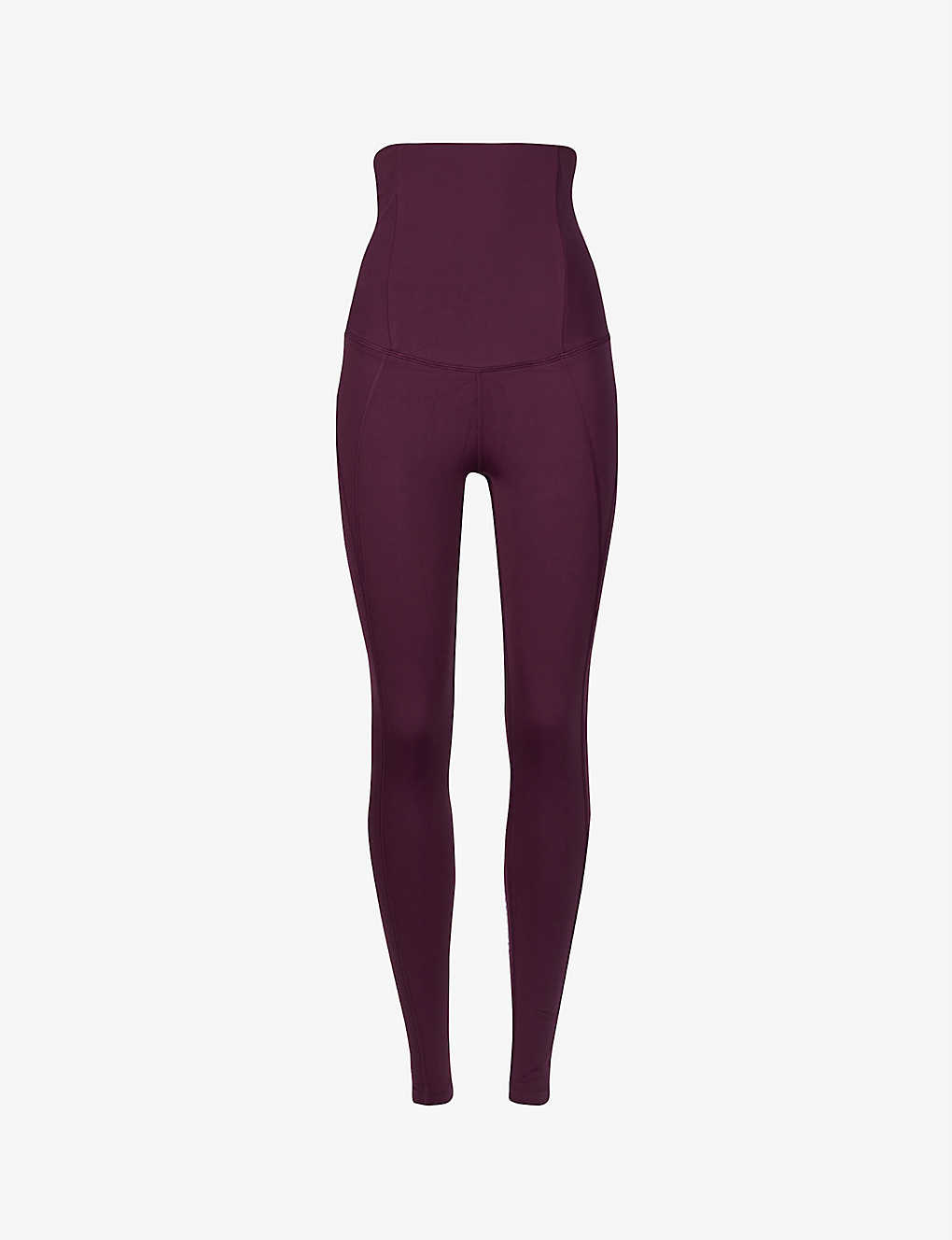 GIRLFRIEND COLLECTIVE: Super high-rise stretch-recycled polyester maternity leggings