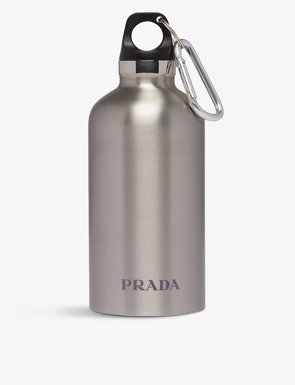 PRADA: Logo-print stainless steel water bottle 350ml