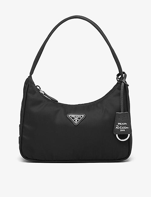 PRADA: 2000 re-edition recycled nylon shoulder bag