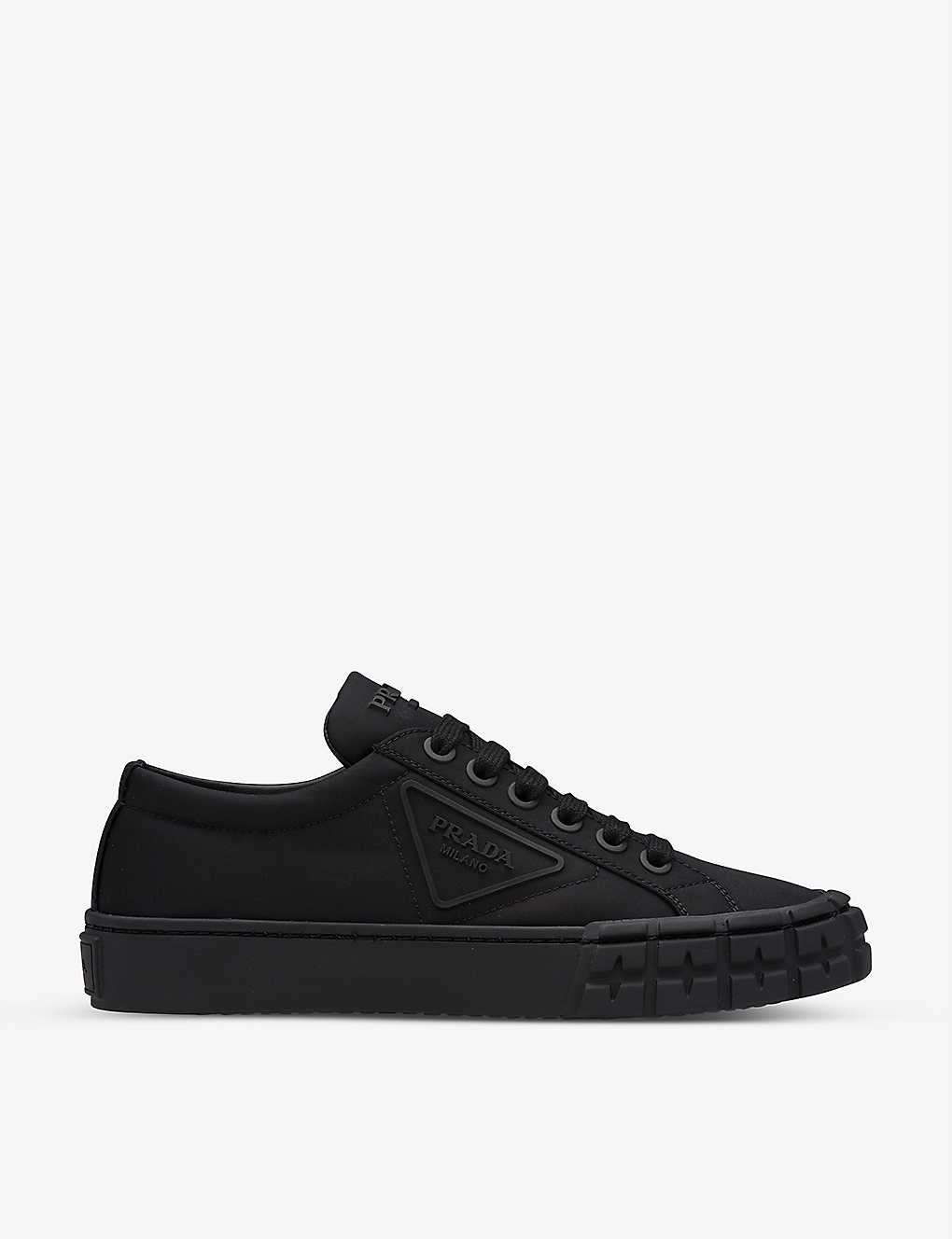 PRADA: Wheel low-top recycled-nylon trainers