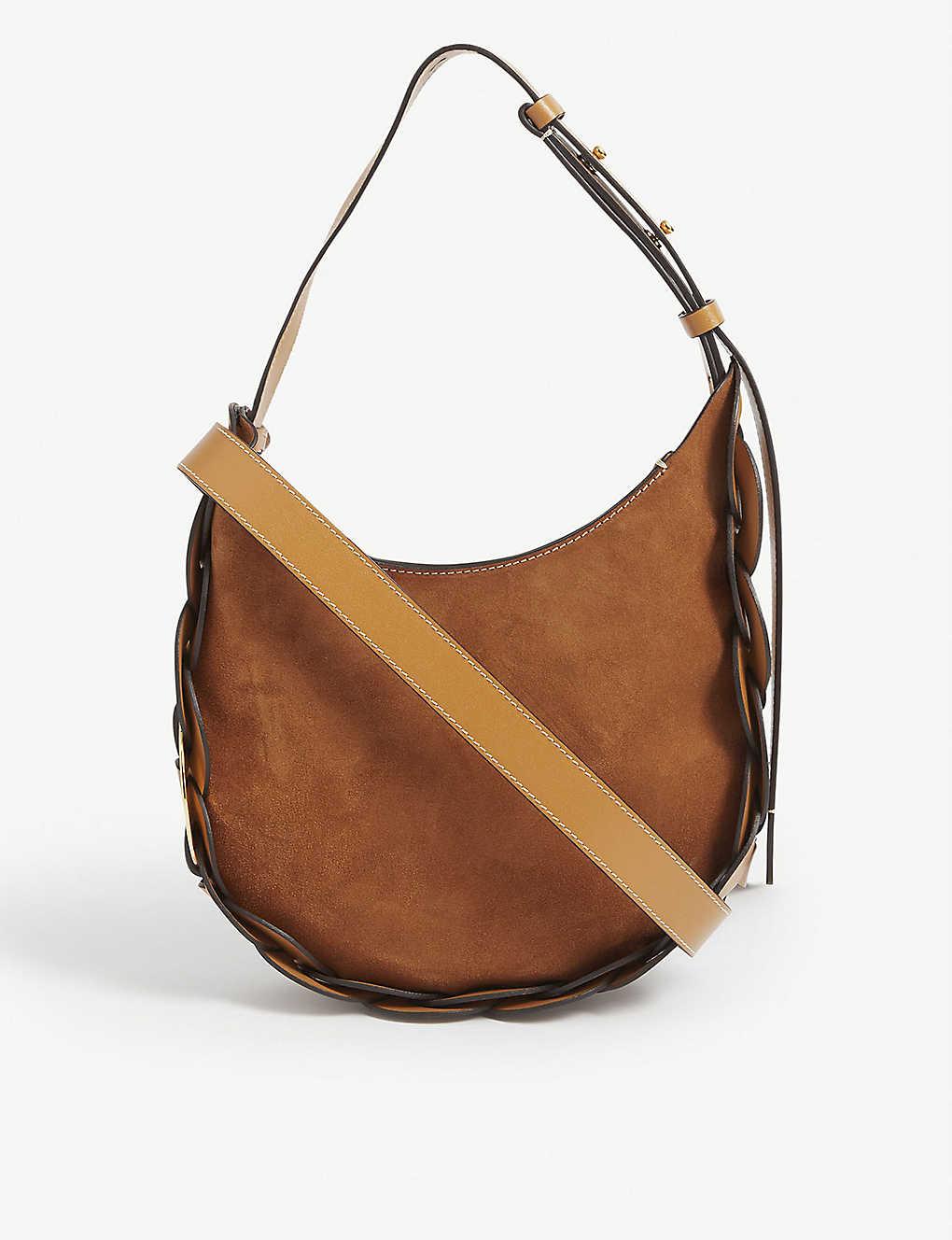 CHLOE: Darryl small leather shoulder bag