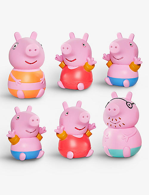 PEPPA PIG: Peppa Family bath water squirters set of three