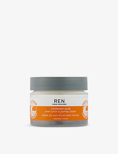REN: Overnight Glow Dark Spot Sleeping Cream 50ml