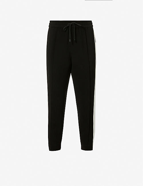ME AND EM: Side-striped tailored jogging bottoms