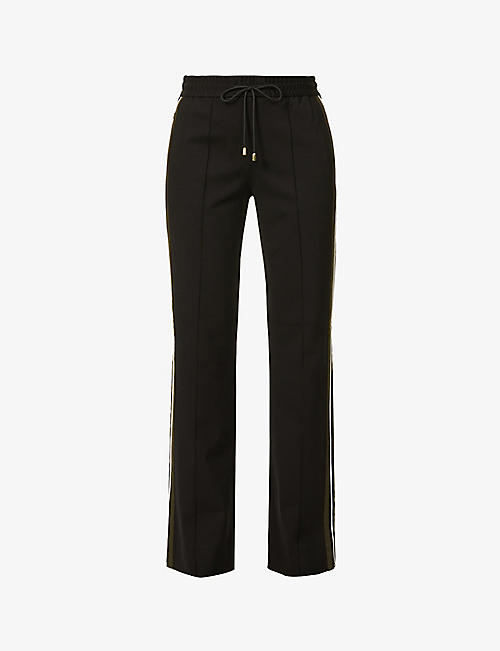 ME AND EM: Side-striped woven trousers