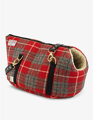 LISH: Philip wool-blend small pet carrier