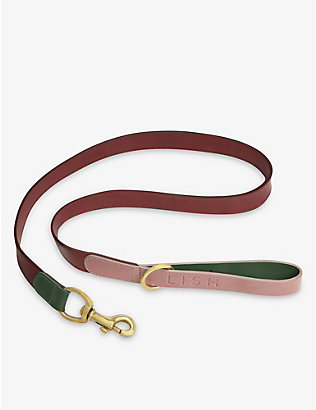 LISH: Walter small leather dog lead