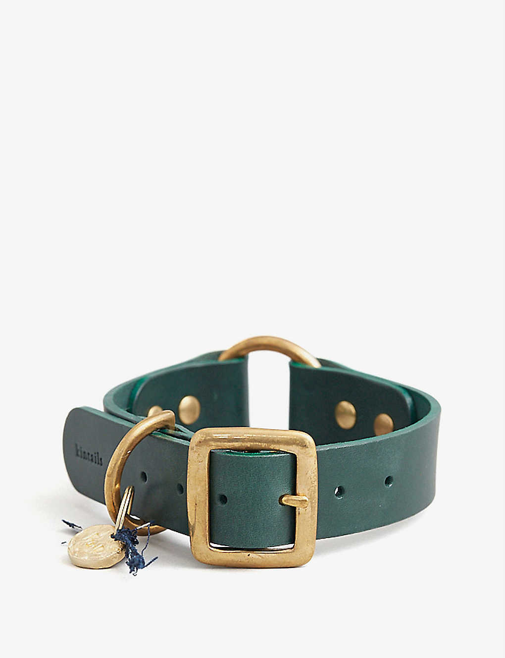 KINTAILS: Leather dog collar