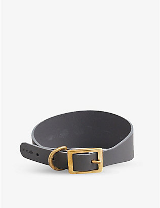 KINTAILS: Hound leather dog collar