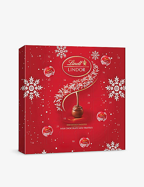 LINDT: Lindor mini chocolate advent calendar 109g