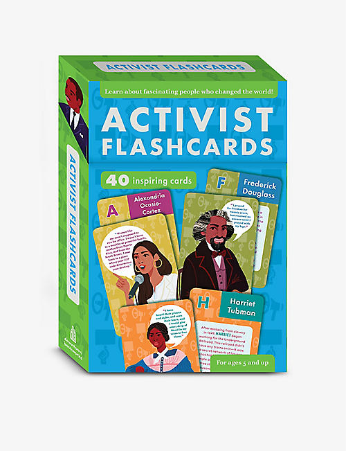 TURNAROUND: Activist Flashcards activity set