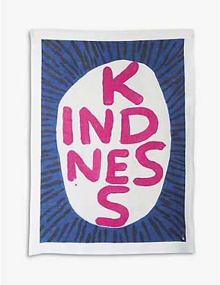 TURNAROUND: David Shrigley cotton tea towel 50x67cm