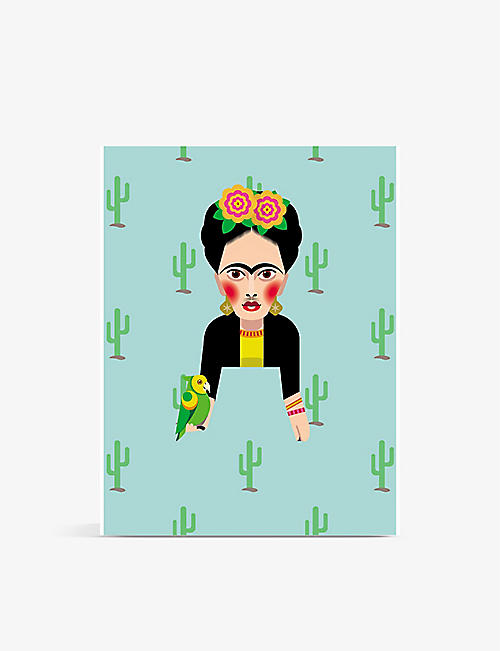 TURNAROUND: Frida Kahlo pocket-sized sketchbook