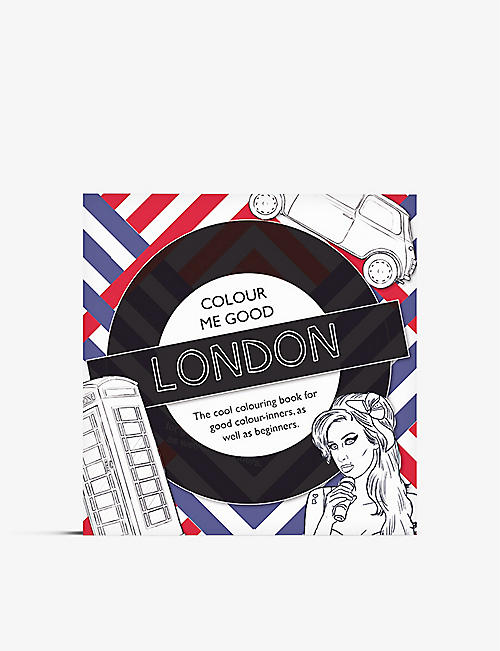 TURNAROUND: Colour Me Good London colouring book
