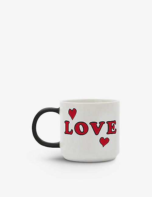 MAGPIE + PEANUTS: Love ceramic mug 330ml