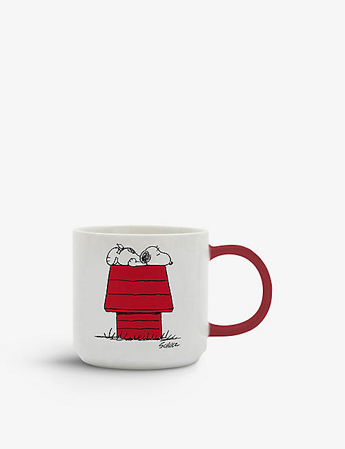 MAGPIE + PEANUTS: Allergic to Mornings ceramic mug 330ml