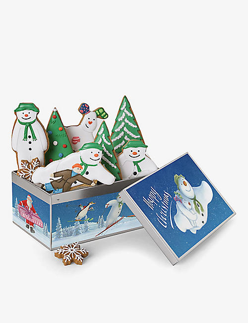 BISCUITEERS: The Snowman biscuit tin 175g