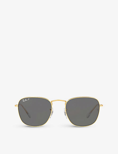 RAY-BAN: RB3857 Frank Legend square-frame sunglasses