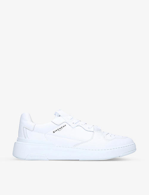 GIVENCHY: Wing low-top leather trainers