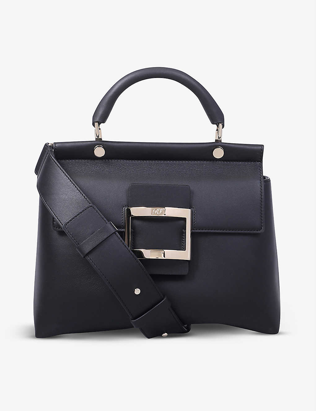 ROGER VIVIER: Viv' Cabas leather top-handle bag