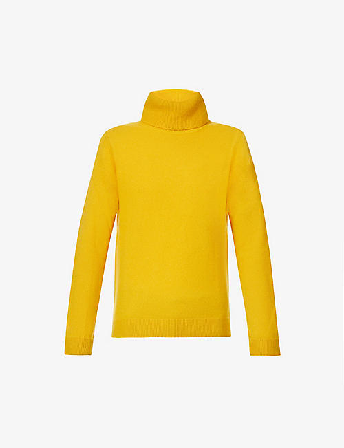 BENETTON: Turtle-neck cashmere jumper