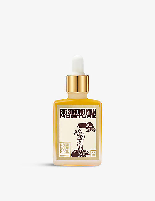 NEIGHBOURHOOD BOTANICALS: Big Strong Man Moisture facial oil 30ml
