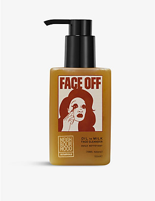 NEIGHBOURHOOD BOTANICALS: Face Off oil to milk facial cleanser 150ml