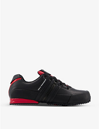 ADIDAS Y3: Y-3 Sprint leather low-top trainers