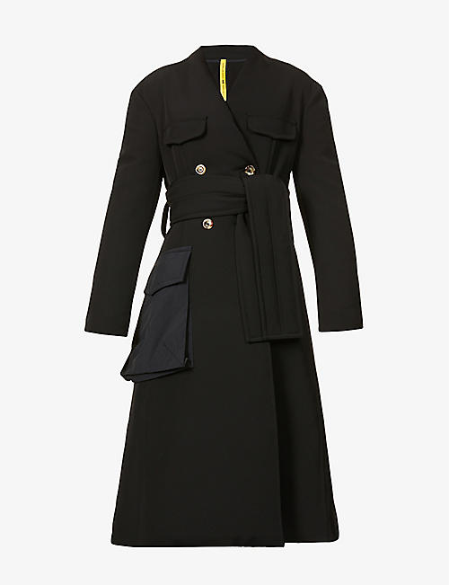 MONCLER GENIUS: 1952 Sim padded down stretch-woven coat
