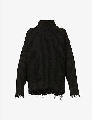 MONCLER GENIUS: 1952 Ciclista turtleneck knitted jumper