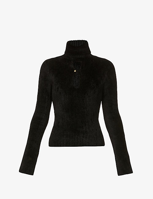 MONCLER GENIUS: 1952 Ciclista turtleneck stretch-knitted top