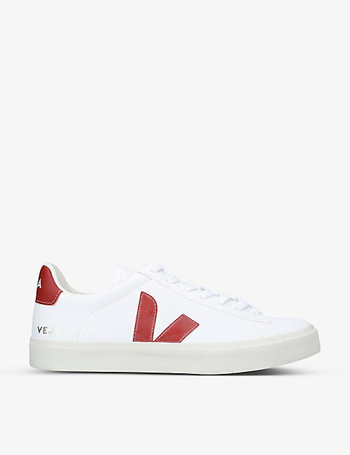 VEJA: Men's Campo ChromeFree leather trainers