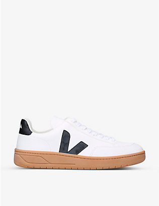 VEJA: V12 leather low-top trainers