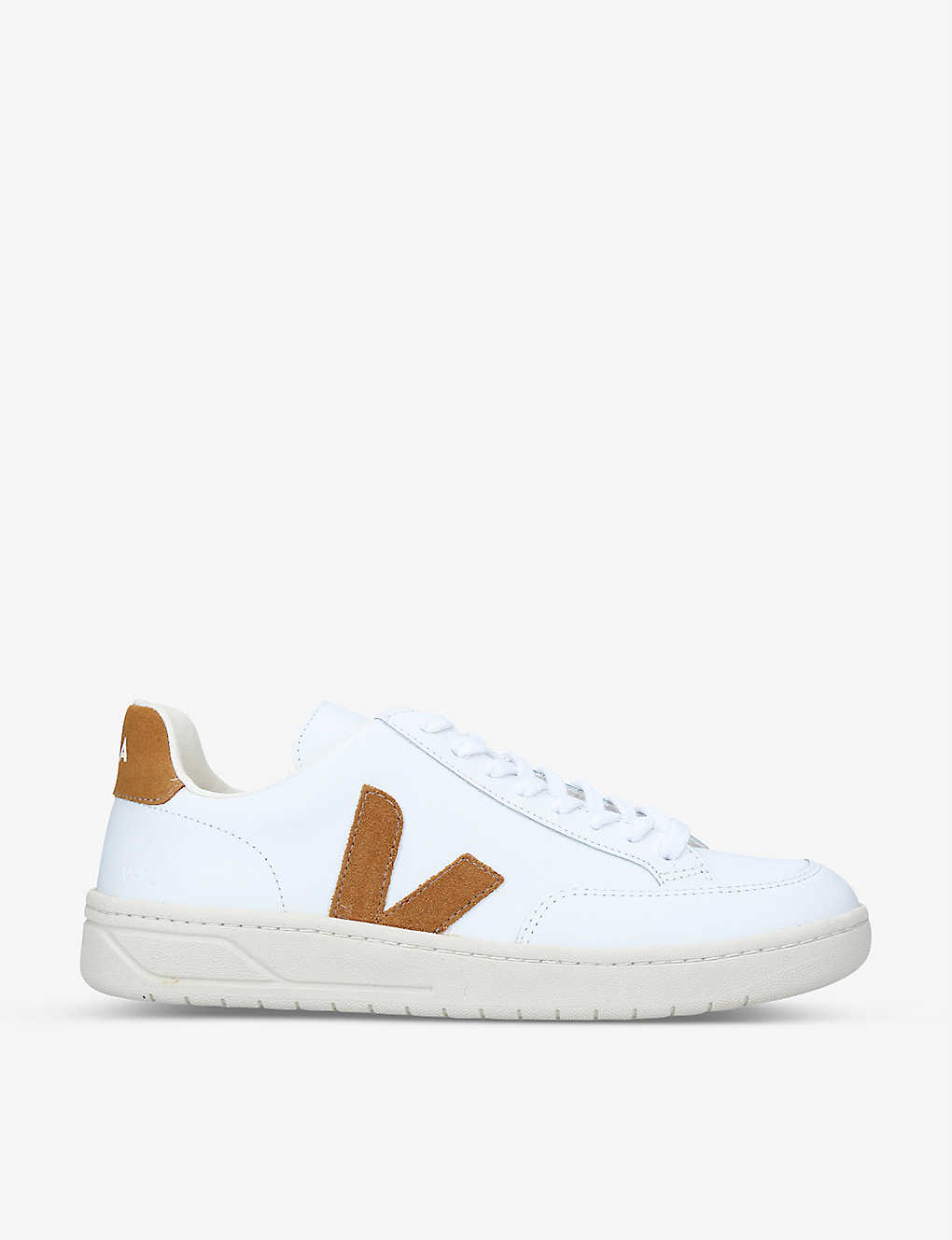 VEJA: V-12 leather and suede trainers