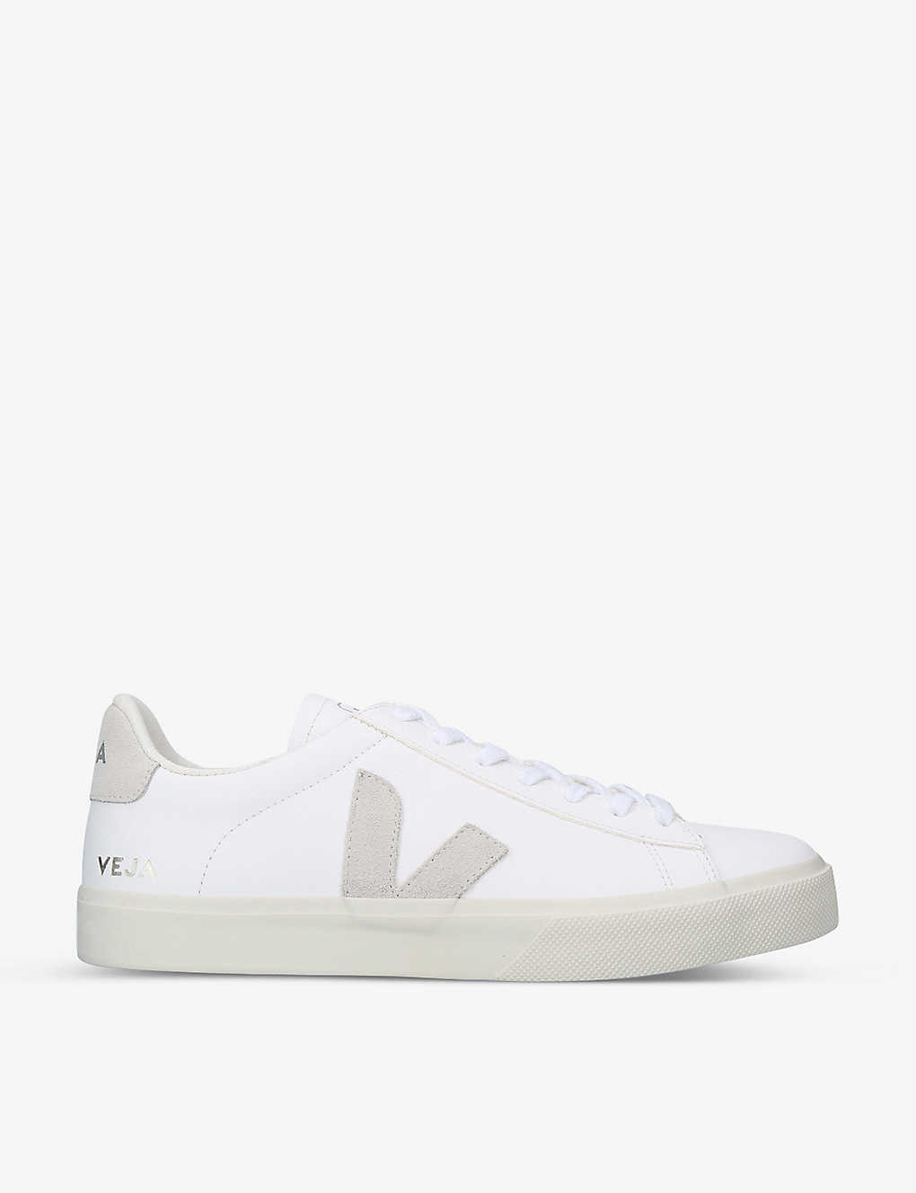 VEJA: Campo leather and suede low-top trainers
