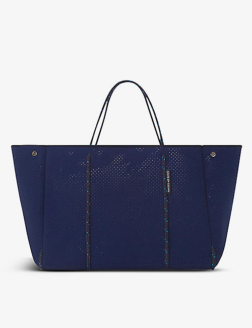 STATE OF ESCAPE: Escape neoprene tote bag