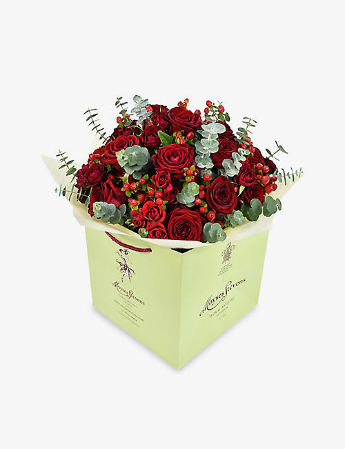 MOYSES STEVENS: Classic Red Rose large bouquet