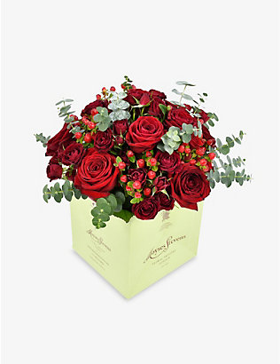 MOYSES STEVENS: Classic Red Rose medium bouquet