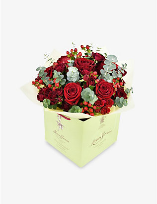 MOYSES STEVENS: Classic Red Rose small bouquet