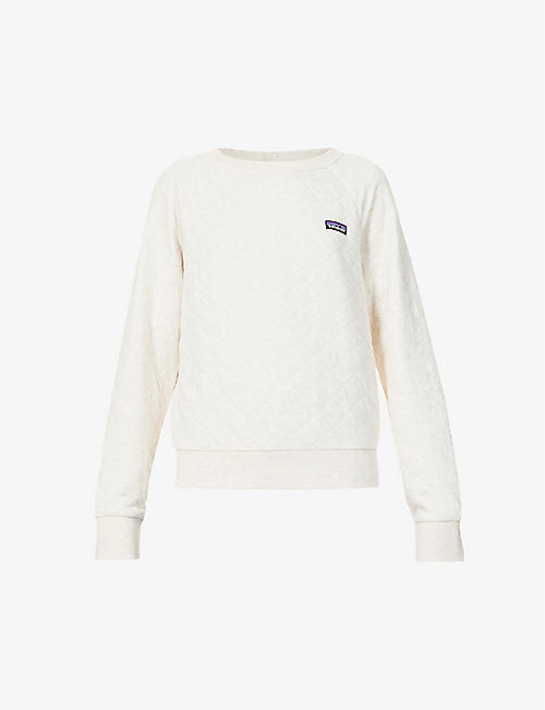 PATAGONIA: Quilted organic cotton and recycled polyester-blend sweatshirt