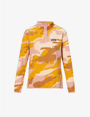PATAGONIA: Micro D Snap-T recycled-polyester sweatshirt